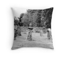 Cemetery Throw Pillow