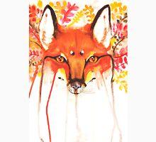 Autumn Red Fox Watercolor Unisex T-Shirt