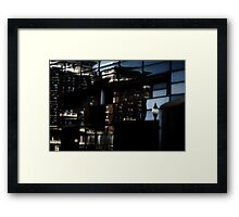 Through a Mirror Darkly Framed Print