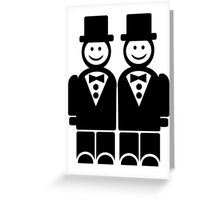 Gay Wedding Greeting Card
