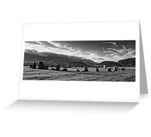 Castle Rigg Stone Circle Greeting Card
