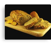 Multicereal Bread Canvas Print