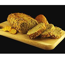 Multicereal Bread Photographic Print