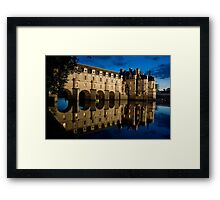 Chateau de Chenonceau Framed Print