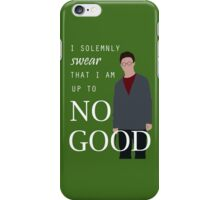 "Harry Potter - ""I solemnly swear that I am up to no good"" iPhone Case/Skin"
