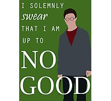 """Harry Potter - """"I solemnly swear that I am up to no good"""" Photographic Print"""