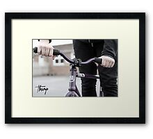 Thump (fixie) Framed Print