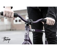 Thump (fixie) Photographic Print