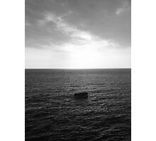 Sailing into the light Photographic Print