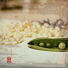 Peas and pearls by Sonia de Macedo-Stewart