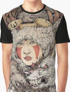 The Ghibli Girl Graphic T-Shirt