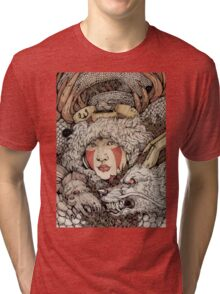 The Ghibli Girl Tri-blend T-Shirt