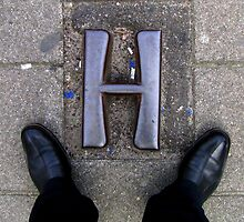 """H"" by Hans Bax"