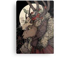 The Elk King Metal Print