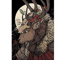 The Elk King Photographic Print