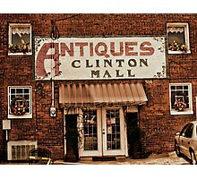 Antiques... Clinton Mall   #1 Photographic Print