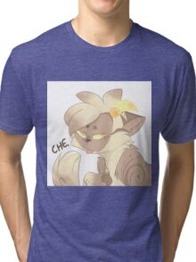 """Che"" Cat Tri-blend T-Shirt"