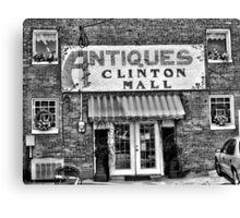 Antiques... Clinton Mall   #2 Canvas Print