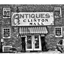 Antiques... Clinton Mall   #2 Photographic Print
