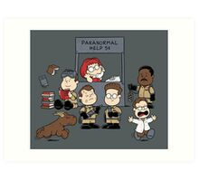 The Busters Are In! Art Print