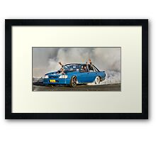 LS2PWR Burnout Framed Print