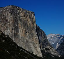El Capitan & Half Dome in  Color by KentuckyJim