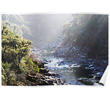 North Fork of the American River Poster