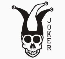 Black And White Joker  Baby Tee