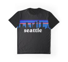 Seattle, skyline silhouette Graphic T-Shirt