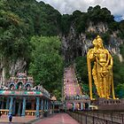 Batu Caves by Adrian Evans