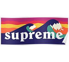 Supreme Waves Poster