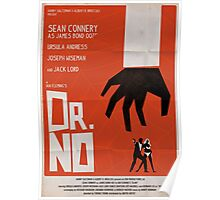 Orange Dr No Poster