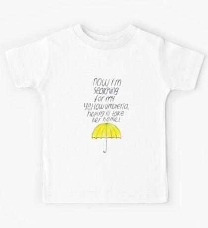 Yellow Umbrella Kids Tee
