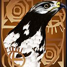 A Bird Of The Serengeti poster by Lotacats