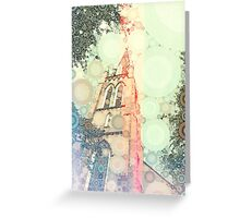 burst into bubbles Greeting Card