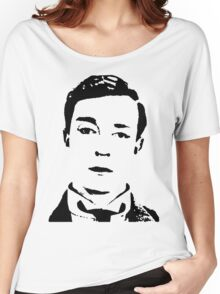buster is sherlock, jr.  Women's Relaxed Fit T-Shirt