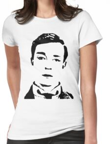 buster is sherlock, jr.  Womens Fitted T-Shirt