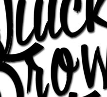 The Quick Brown Fox Sticker