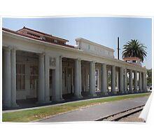 Redlands AT& SF railroad station..... Poster