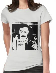 buster. how to be a detective. Womens Fitted T-Shirt