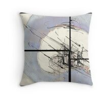 Separation (abstract) Throw Pillow