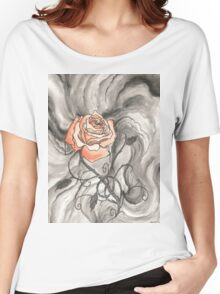 So Like a Rose Women's Relaxed Fit T-Shirt