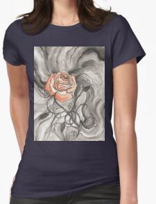 So Like a Rose Womens Fitted T-Shirt