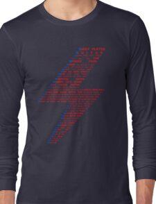 Ziggy played guitar... Long Sleeve T-Shirt