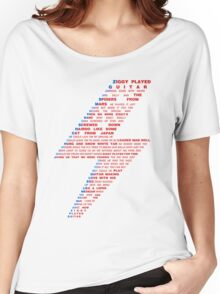 Ziggy played guitar... Women's Relaxed Fit T-Shirt