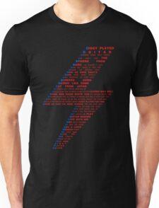 Ziggy played guitar... Unisex T-Shirt