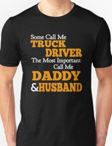 Truck Driver Daddy T-Shirt