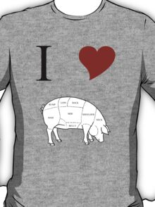 I Love Pork T-Shirt