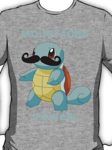 Squirtle-stache. T-Shirt
