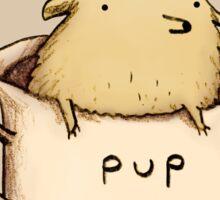 Pup of Tea Sticker
